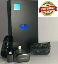 SAMSUNG GALAXY S8+ PLUS SM-G955U1 64GB BLACK UNLOCKED T-MOBILE AT&T VERIZON