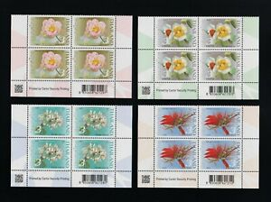 Beautiful B4 THAILAND 2021 - Flowers - Important Buddhist Religious Day (MNH)