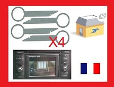 outils extraction autoradio démontage poste concert rns audi a3 a6 2005-2014