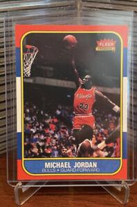 1986-87 Fleer Premier Michael Jordan Rookie Card Reprint