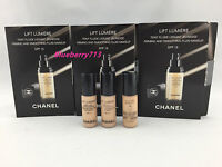 Lot of 3: CHANEL Lift Lumiere Firming and Smoothing Fluid Foundation 2.5ml each