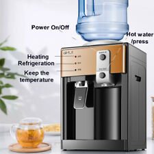 Electric Hot and Cold Water Cooler Dispenser Home Office Use Desktop 3-5