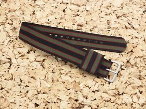 Original Bond Style Single Pass watch strap 20mm