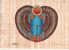 "Egyptian Egipto Ägypten, Pharaonic,Papyrus Paint size D 20x30 cm.(8""x12""),#112"