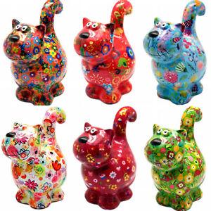 Dorothy Cat Pomme Pidou Ceramic Treat Jar Piggy Bank Money Box Savings Jar Funds