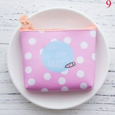 Girls Women Lovely Cartoon Wallet Coin Purse Money Bags Waterproof Pouch Wallets 9