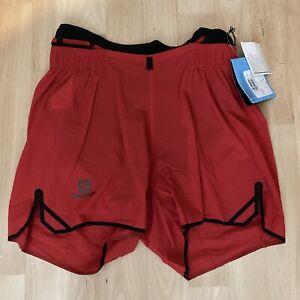 Salomon Sense Aero Shorts Running Mens Small