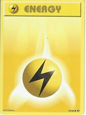 POKEMON XY EVOLUTIONS CARD - LIGHTNING ENERGY 94/108