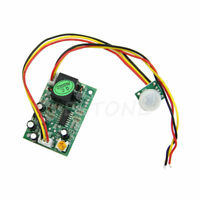 DC12V PIR IR Pyroelectric Infrared Module Adjust Relay Output Human Body Sensor