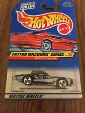 Hot Wheels 1997 TATTOO MACHINES SERIES 3/4 STUTZ BLACKHAWK