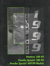 1999 ARCTIC CAT SNOWMOBILE PANTERA 580 EFI, POWDER SPECIAL SERVICE MANUAL  (924)