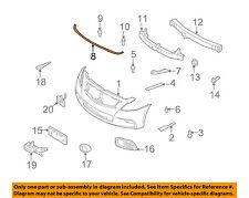 Infiniti OEM 09-13 G37 SEDAN Front Bumper-Seal Strip 65820JK01C