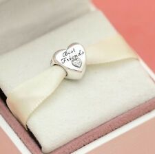 *Authentic Pandora Best Friend s 791727CZ Love Heart Wife  Valentines Day Charm