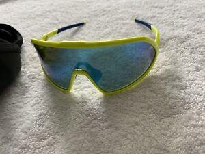 ROKA MATADOR Custom SUNGLASSES Fluoro Yellow/glacier Blue Lens