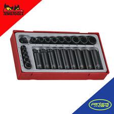 TT9024 - Teng Tools - 1/4 Inch & 3/8 Inch Drive Impact Socket Set