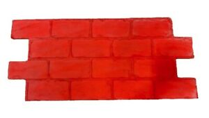 Concrete Cement Imprint Brick Texture Stamp with handles