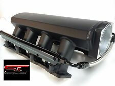 LS1 LS2 102mm SHEET METAL INTAKE MANIFOLD WITH FUEL RAILS TIG WELDED ALUMINUM