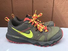 EUC Womens Nike Shoes Dual Fusion Trail Size 9 Running Gray Sneakers 652869-008
