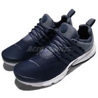 Nike Air Presto Essential Navy Blue White Men Running Shoes Sneakers 848187-406