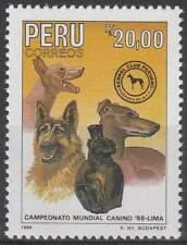 Peru postfris 1988 MNH 1383 - Honden / Dogs (h102)