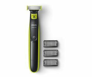 Philips QP2525/10 OneBlade Hybrid Trimmer & Shaver with 3 Trimming Combs