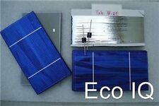 72 3x6 .5v 3.6a 1.8W Solar Vidrio Pilas + Tab Cable Diodos