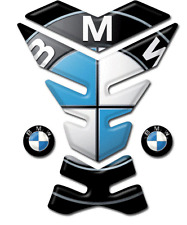 Motorcycle Tank Pad Protector Sticker | (BMW) with Logo Design