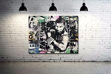 Banksy Buddha print canvas  8x12 /& 12x17 street art graffiti  reproduction