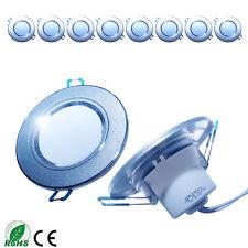 10x 3W LED Decken Einbaustrahler Deckenstrahler Einbau Leuchte Strahler Warmweiß