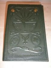 Rolex vintage green leather embossed wallet 1950s/1960s