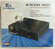 Kingwin All In One Internal Flash Memory Card Reader KWCR-901 Black