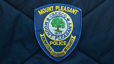 Mount Pleasant Police patch-SC