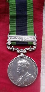 India General Service Medal  Clasp NORTH WEST FRONTIER 1930-31 Native