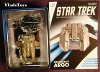 Eaglemoss Star Trek Shuttlecraft Argo shuttle from Enterprise NCC-1701-E #09