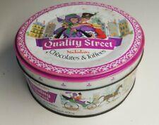 Rare Boîte en métal Quality Street, chocolates & Toff, Vintage,décoration, ronde