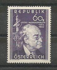 Österreich 1950 100. Todestag von Josef Madersperger **