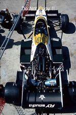 Jacques Laffite Williams FW09B German Grand Prix 1984 Photograph