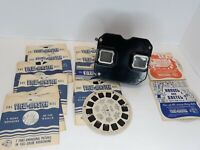 Vintage Sawyers View Master With 13 Reels Fairy Tale, Sights, and More