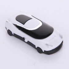 "stylischer Design MP3 Player ""MiniCar"" & BONUS USB-Kabl Auto WEIß aufladbar"