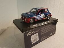 qq 88163 A-1202 FLY RENAULT 5 TURBO RALLY MONTE CARLO 1984 BRUNO SABY- JM ANDRIE