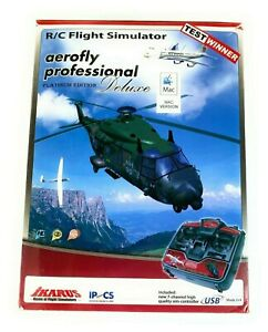 New Ikarus 3061002 Aerofly Professional Flight Platinum Ed Simulator Mac Version