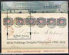 "POLAND -  150 Years of Polish Post Stamp - overprint ""60 lat PZF""  Mi 190 ** MNH"