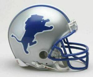 Detroit Lions 1983-2002 83-02 Throwback VSR4 Riddell Mini Helmet New in box