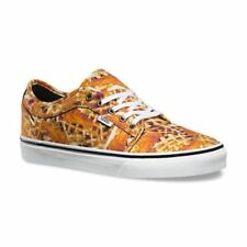 NIB Vans Chukka Low (Chicken + Waffles) White Skate Shoes Mens Size 9.5