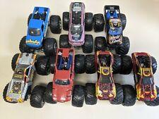 Hot Wheels Monster Jam Trucks lot of 7 1:64  See Pics