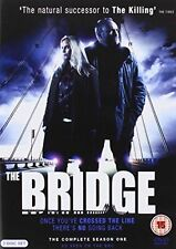 The Bridge Complete Series 1 DVD All Episode First Season Original UK Rel NEW R2