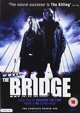 The Bridge - BBC Series 1  DVD Sofia Helin, Kim Bodnia, Dag Malmberg, Magnus Kre
