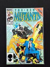 THE NEW MUTANTS #37 MARVEL COMICS 1986 NM