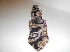 100% Imported Silk Necktie, The Sharper Image, Made in U.S.A. , 57 plus inches