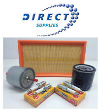 FORD KA 1.3i 96-01 SERVICE KIT OIL,AIR,FUEL FILTERS & NGK PLUGS - FREE DELIVERY!